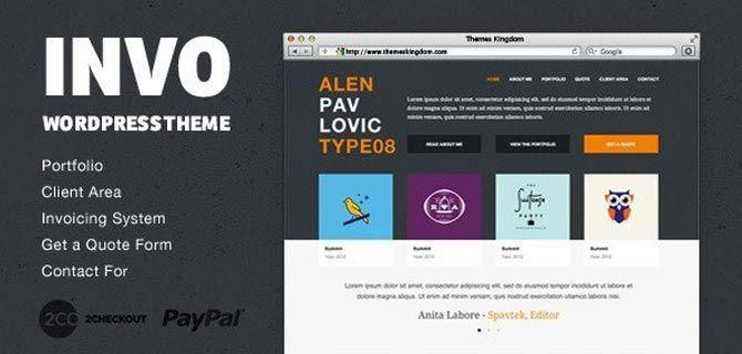 Invo Wp Business Theme
