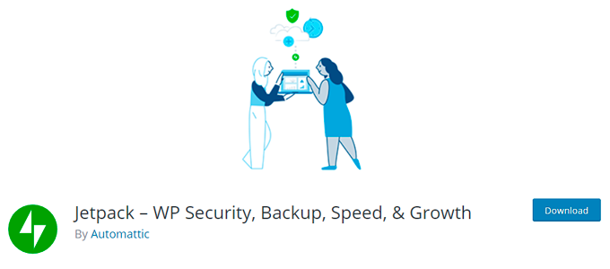 jetpack wp security backup speed