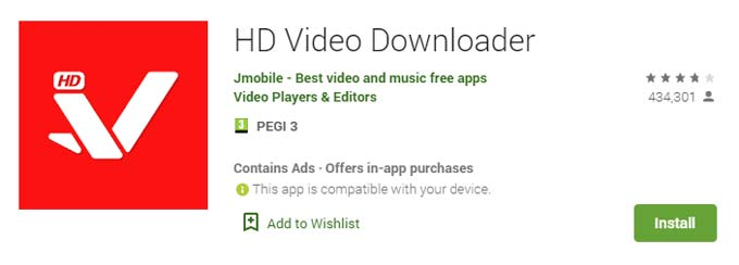 hd video downloader descargar videos
